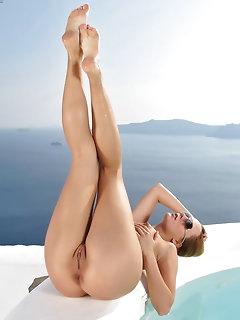 Poolside Nude Girls